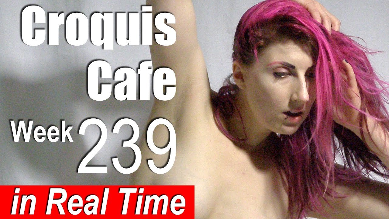 Croquis Cafe: Figure Drawing Resource No. 239