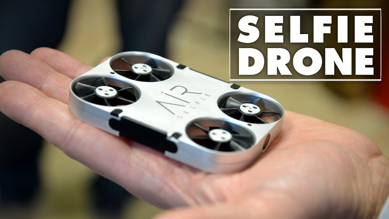 Drone tascabile per scattare foto e video | Air Selfie