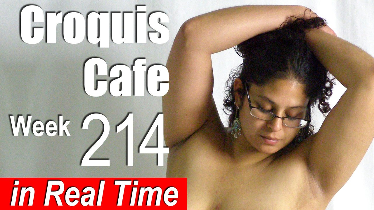 Croquis Cafe: Figure Drawing Resource No. 214
