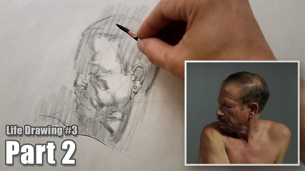Life Drawing Exercise #3 - Part 2