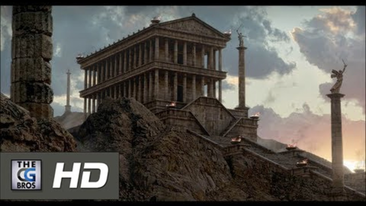 CGI Breakdown Matte Painting HD: