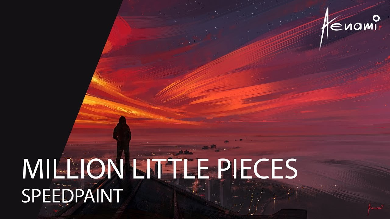 Speedpaint | Paint Tool SAI | Million Little Pieces