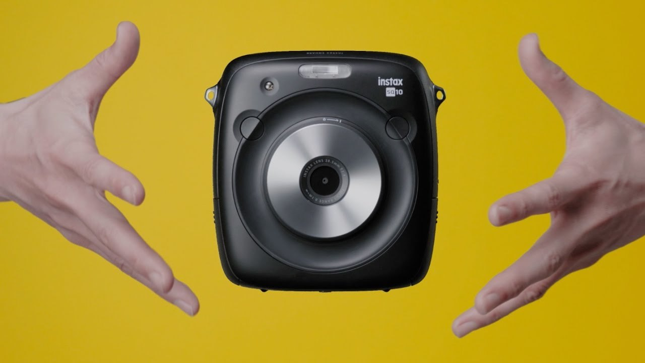instax SQUARE SQ10 特長紹介MOVIE「HANDS」/富士フイルム