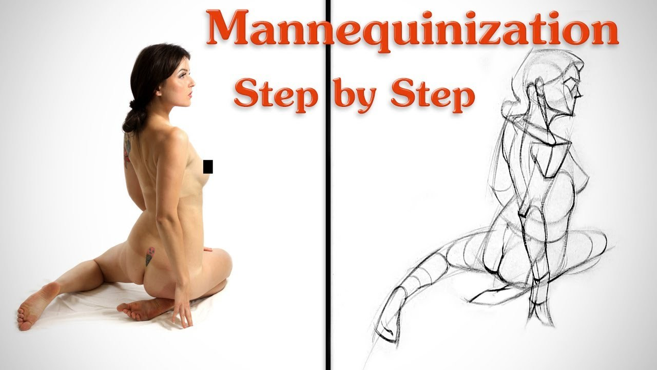 Mannequinization - Drawing Example 1