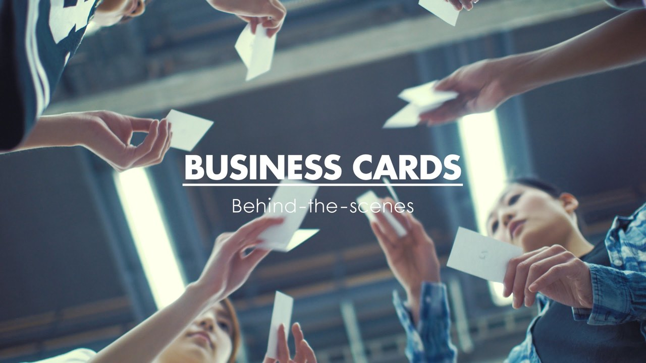 Eight: Business Cards / Behind-the-scenes