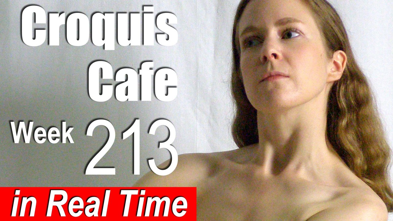 Croquis Cafe: Figure Drawing Resource No. 213