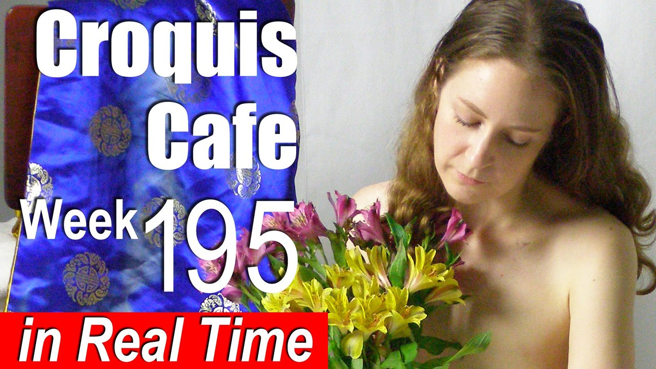 Croquis Cafe: Figure Drawing Resource No. 195