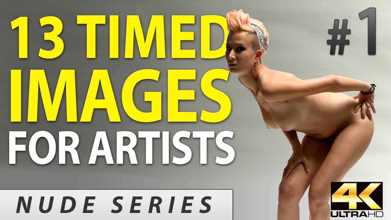 Daily Life Drawing Session #1 (Free Timed Figure Model Reference)