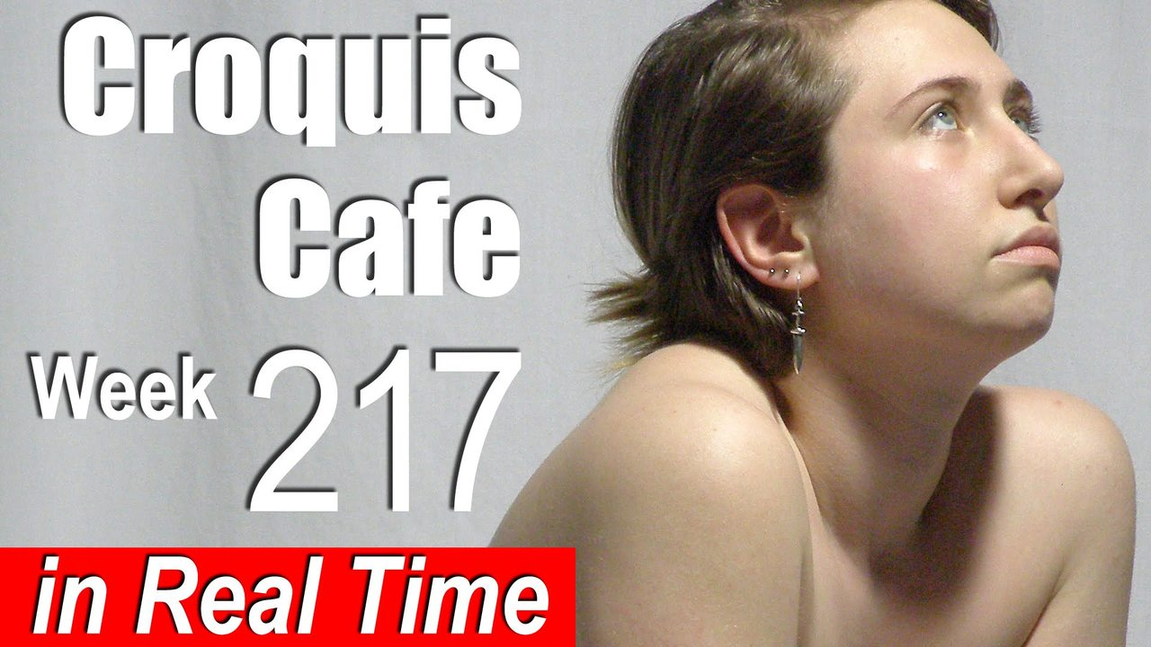 Croquis Cafe: Figure Drawing Resource No. 217