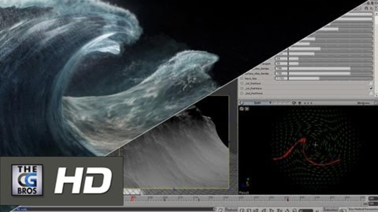 CGI VFX Wave Rigging Breakdown HD: Got Milk?