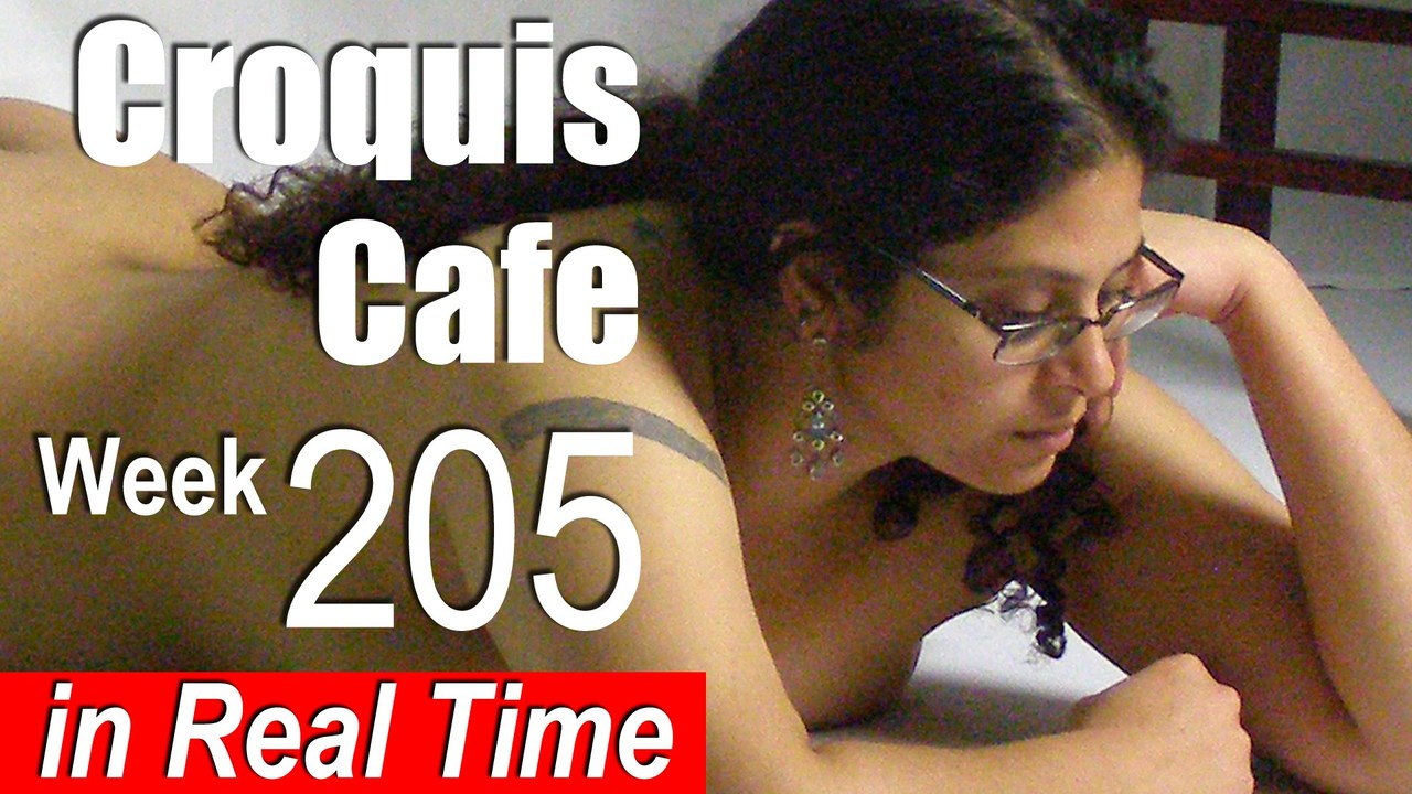 Croquis Cafe: Figure Drawing Resource No. 205
