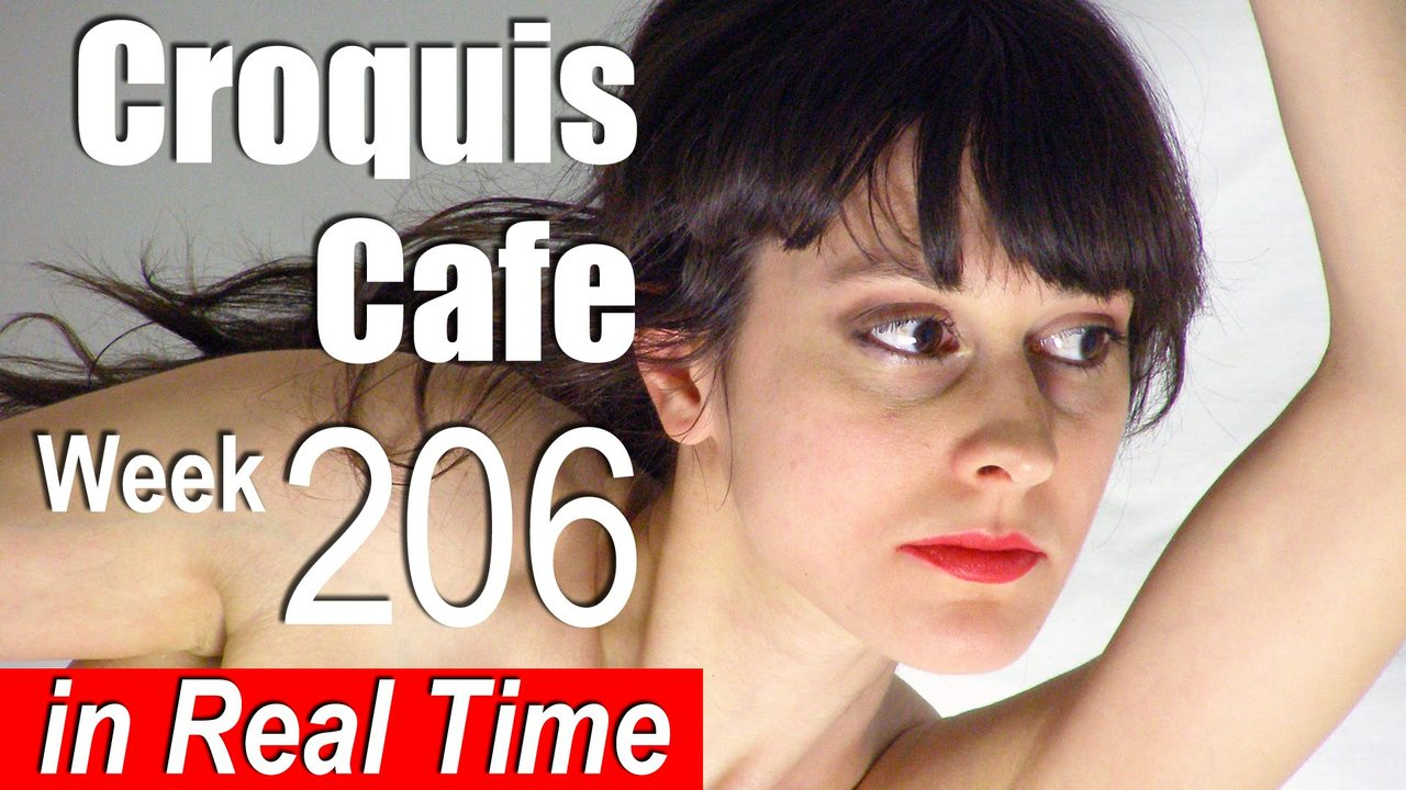 Croquis Cafe: Figure Drawing Resource No. 206
