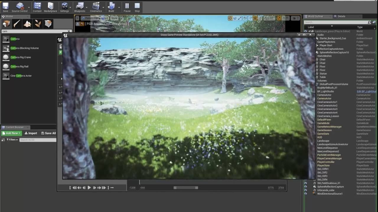 How to create movies in Unreal engine 4 12   *New* Sequencer