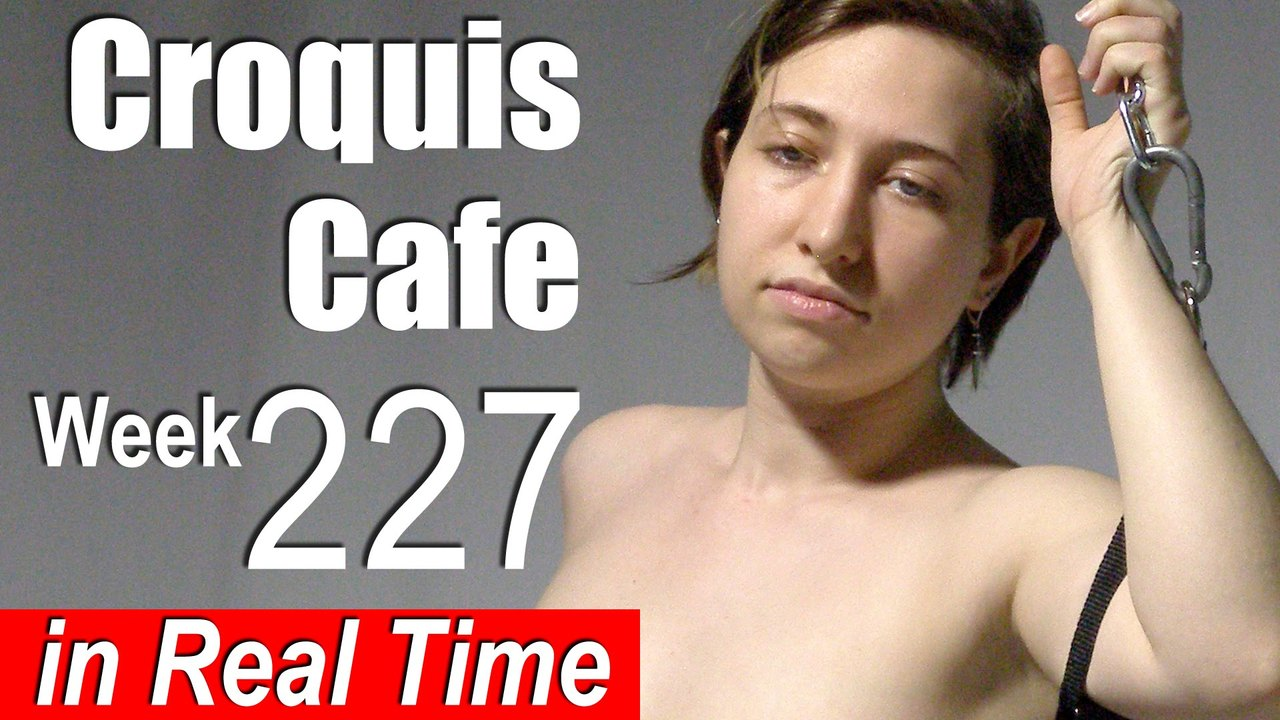 Croquis Cafe: Figure Drawing Resource No. 227