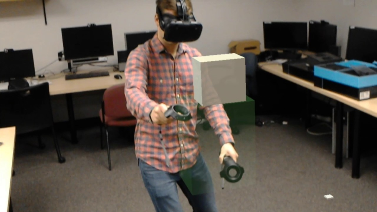 Shared Reality: Vive + HoloLenses = Magic
