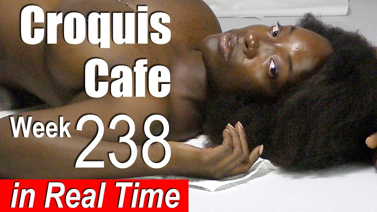 Croquis Cafe: Figure Drawing Resource No. 238