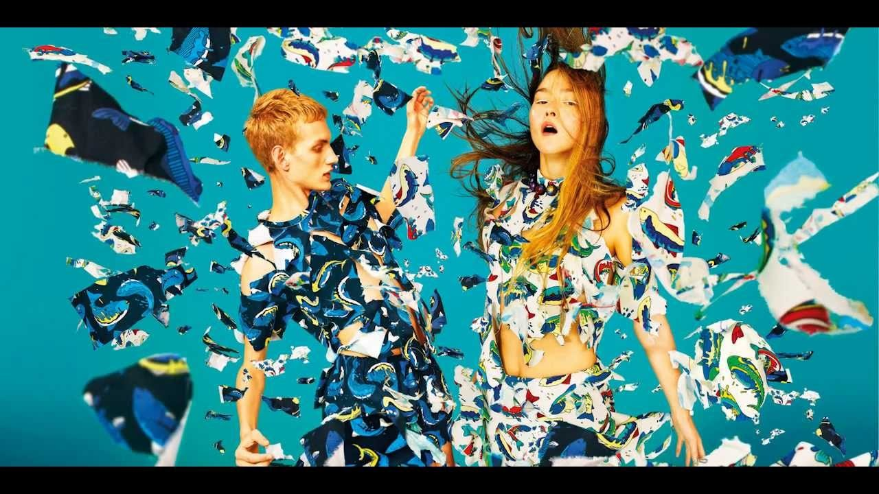 KENZO Spring-Summer 2014 Campaign by TOILETPAPER