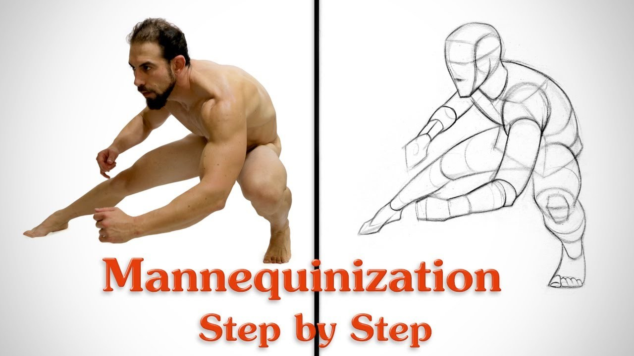 Mannequinization - Drawing Example 3