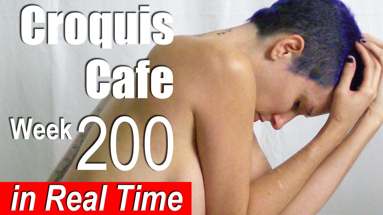 Croquis Cafe: Figure Drawing Resource No. 200