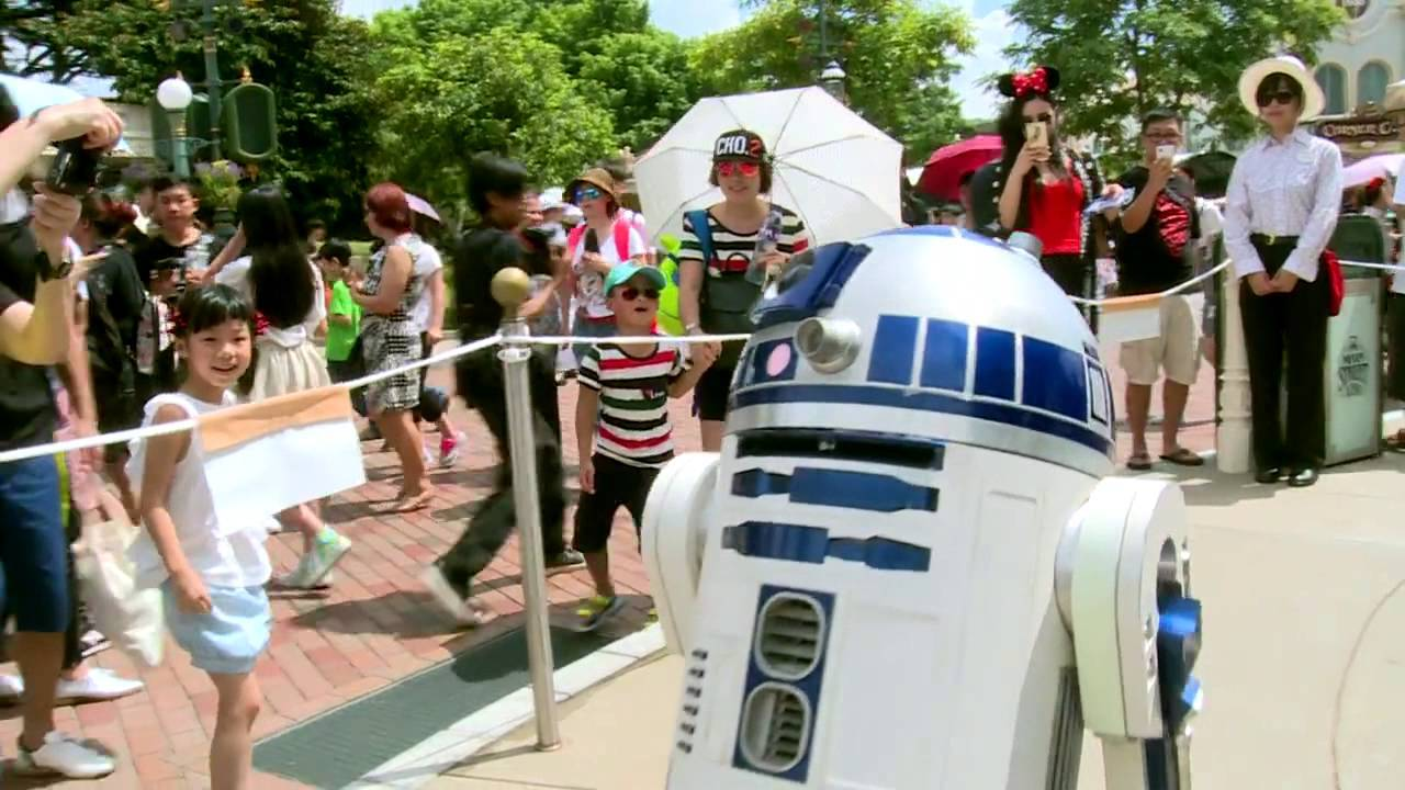 Star Wars Hong Kong Disney Fan Parade 2015