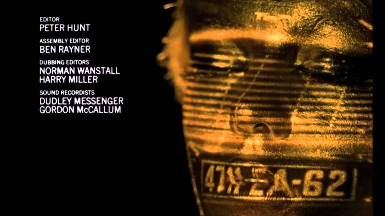 James Bond - Goldfinger (gunbarrel and opening credits)