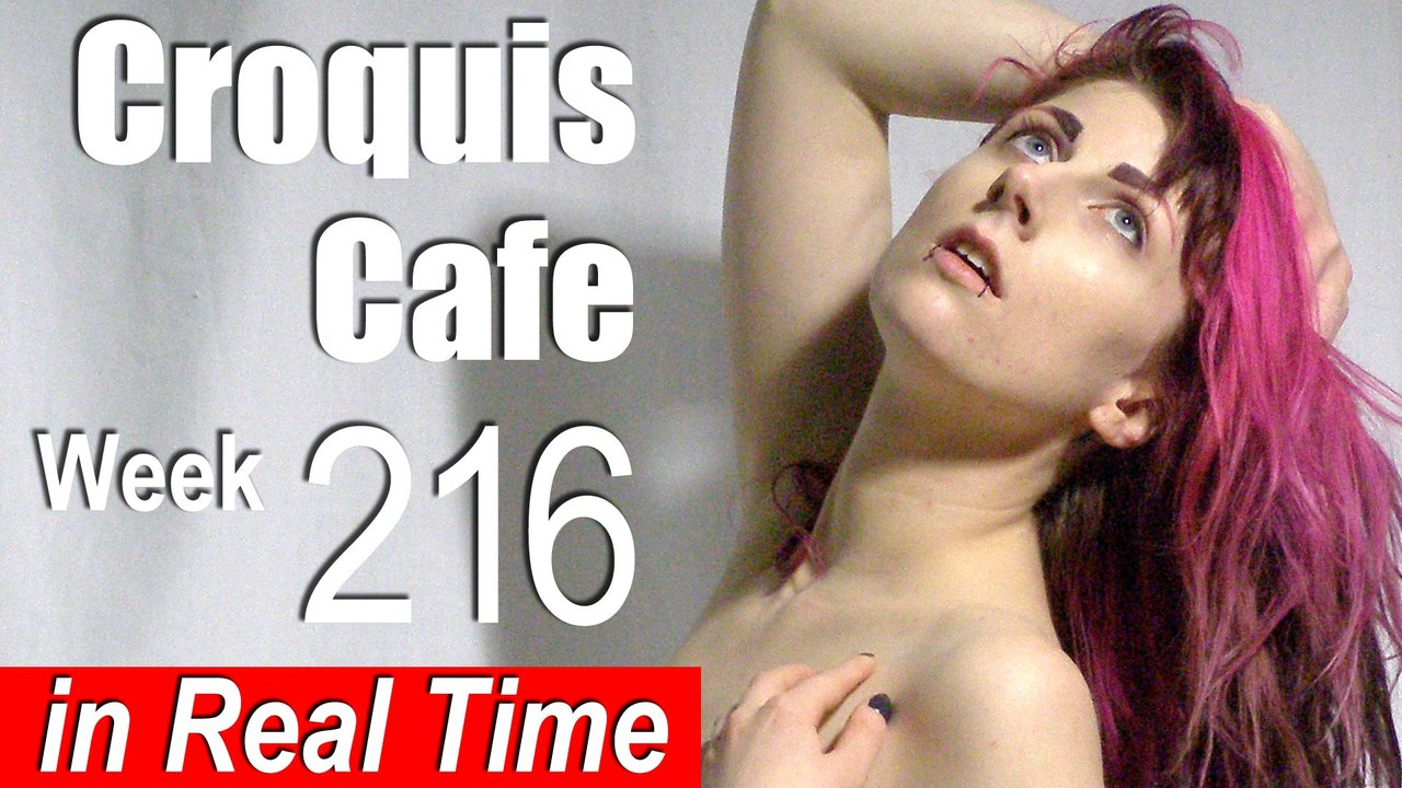 Croquis Cafe: Figure Drawing Resource No. 216