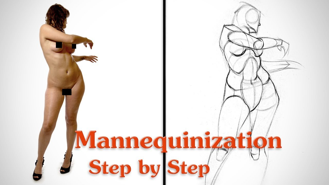 Mannequinization - Drawing Example 2