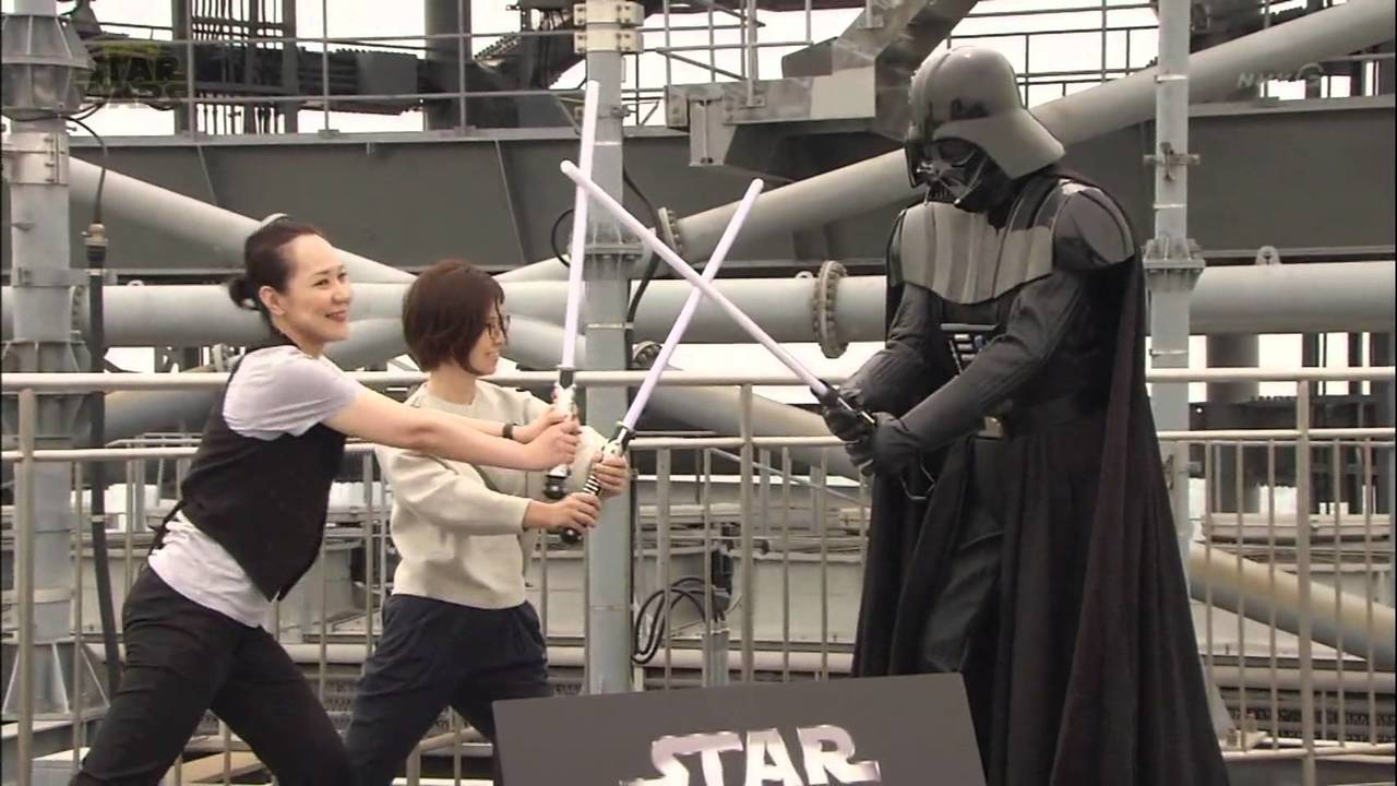 Japanese Star Wars documentary 2015 (presented by Nakajima Yuto)