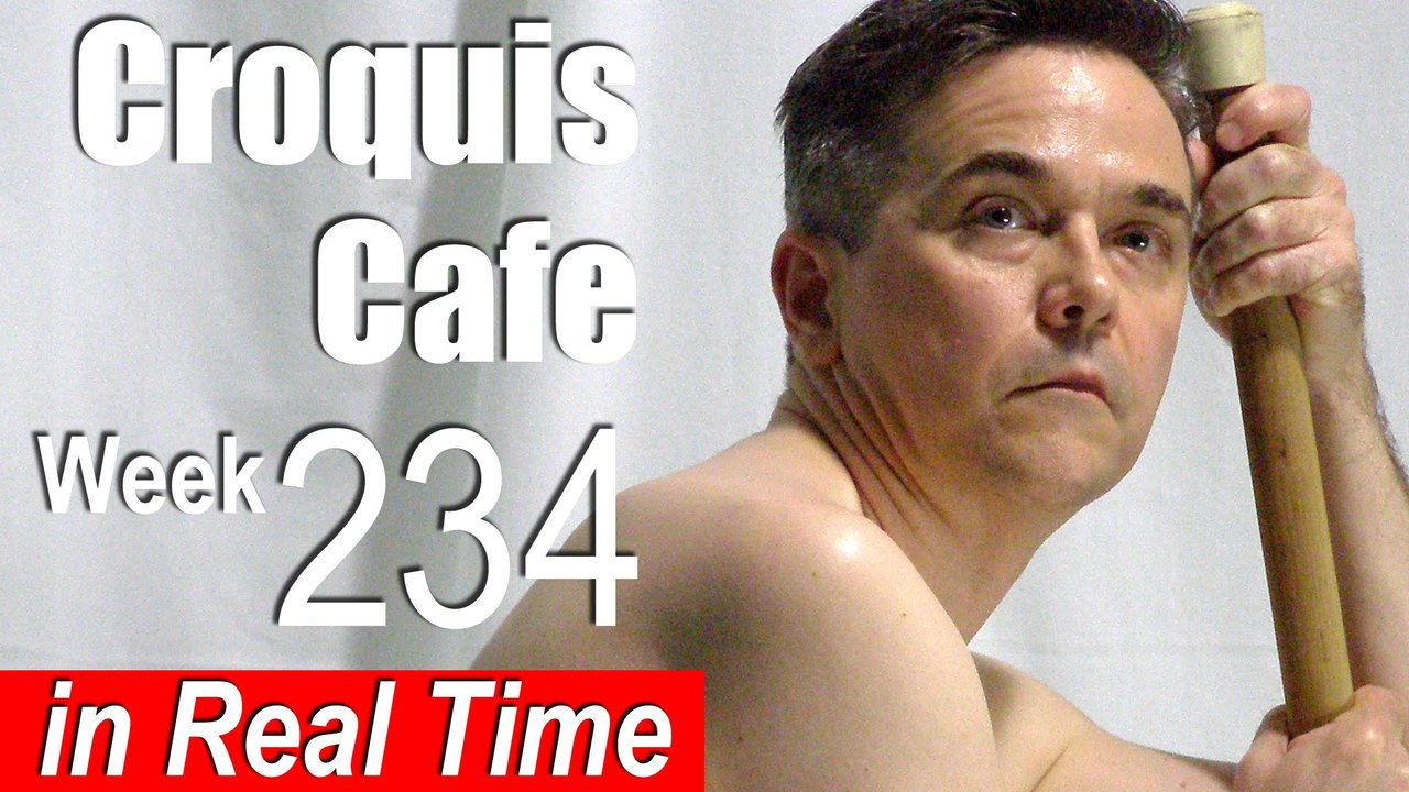 Croquis Cafe: Figure Drawing Resource No. 234