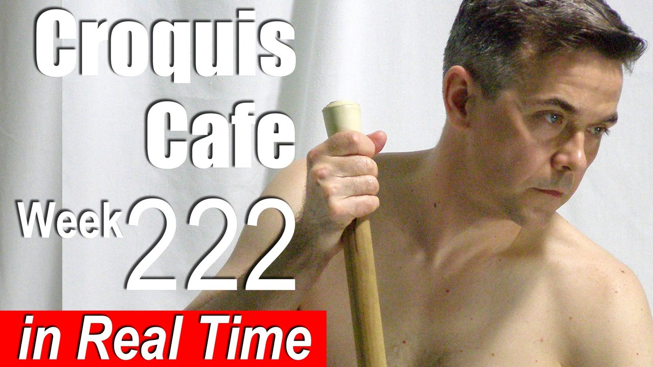 Croquis Cafe: Figure Drawing Resource No. 222
