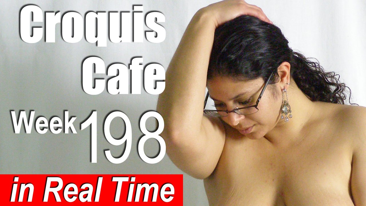 Croquis Cafe: Figure Drawing Resource No. 198