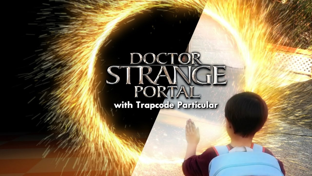 Create a DOCTOR STRANGE Portal (w/ Action Movie Kid)