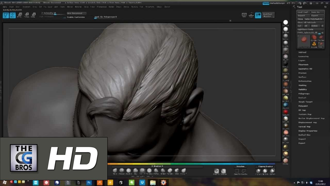 CGI Modelling Making Of HD: