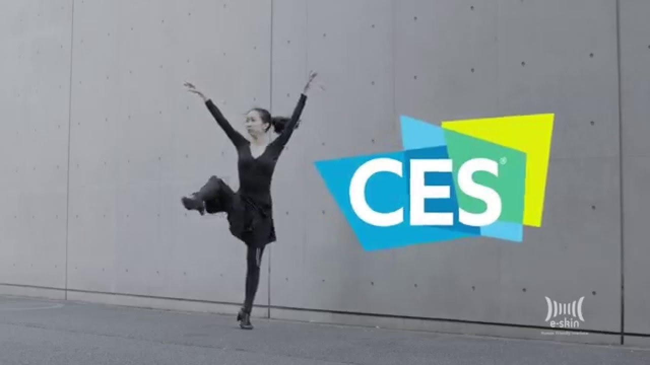 e-skin debut at International CES 2016