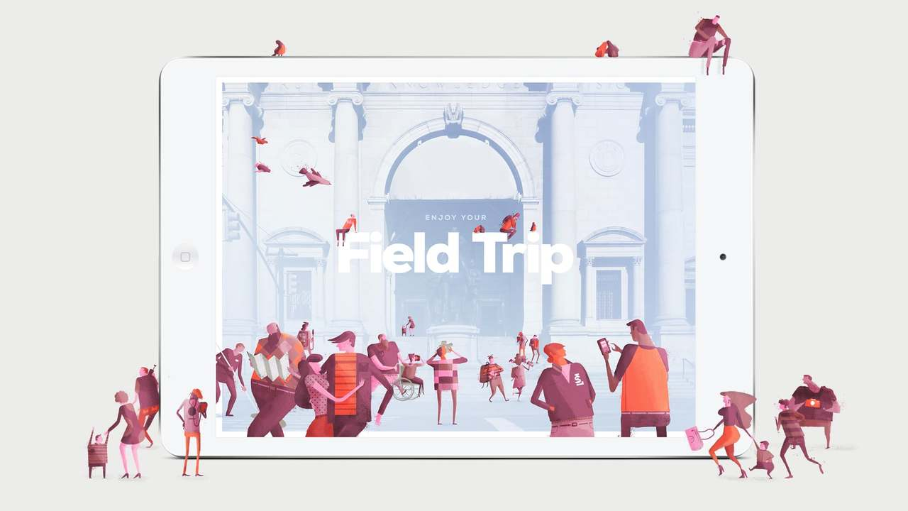 Field Trip App Walkthrough