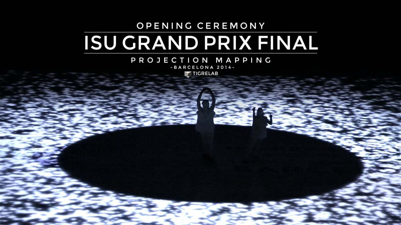 Projection Mapping Opening ceremony -  ISU Grand Prix Final