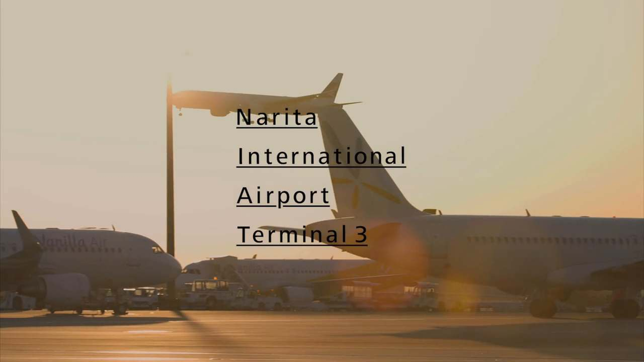 NARITA INTERNATIONAL AIRPORT  TERMINAL3