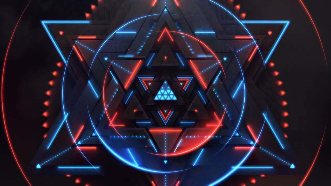 Royksopp Tour Visuals. Monument.