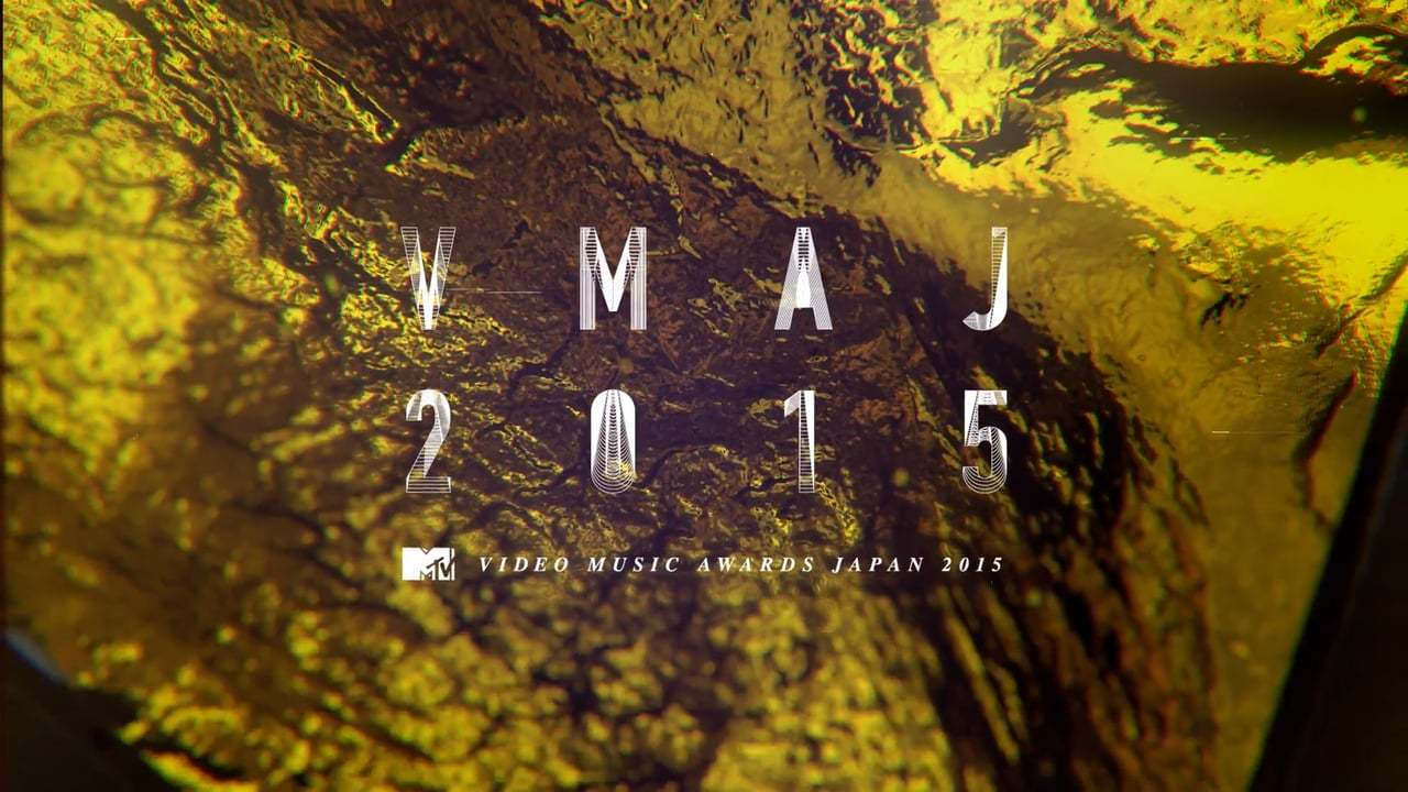 MTV VMAJ 2015 gfx package