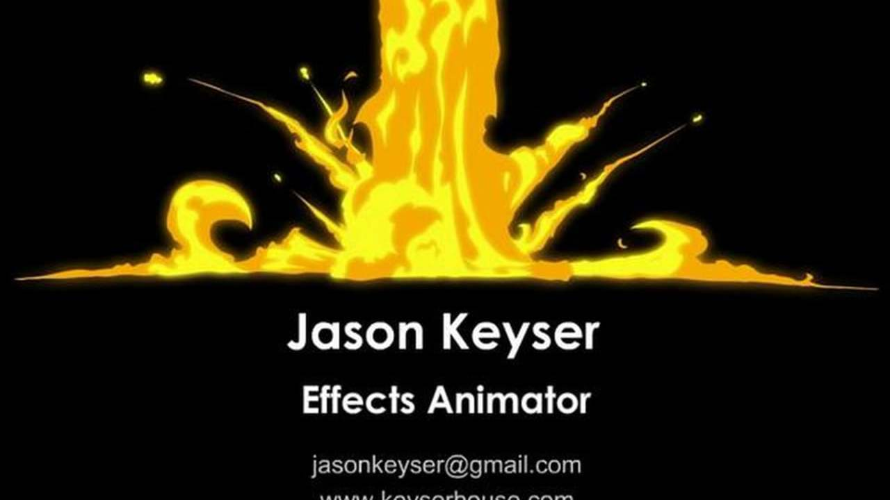 Jason Keyser's EFX Animation Reel