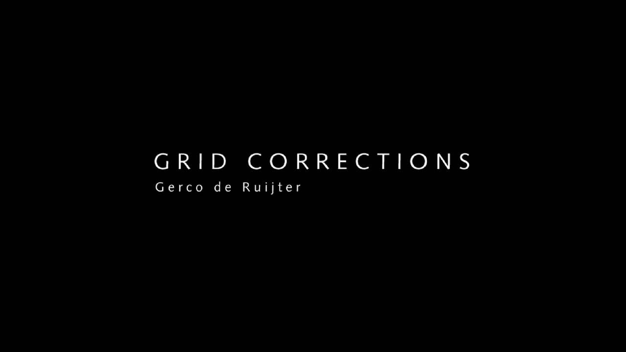 Grid Corrections (a one minute)