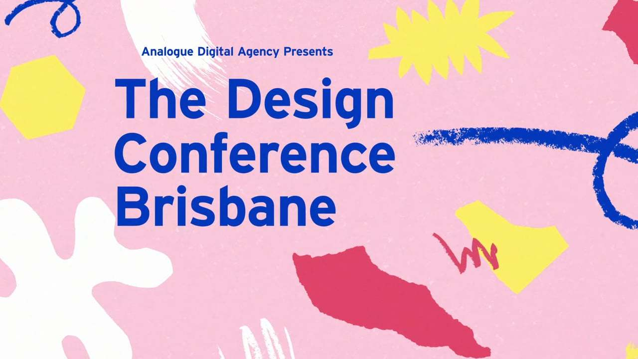 The Design Conference 2016 event titles.