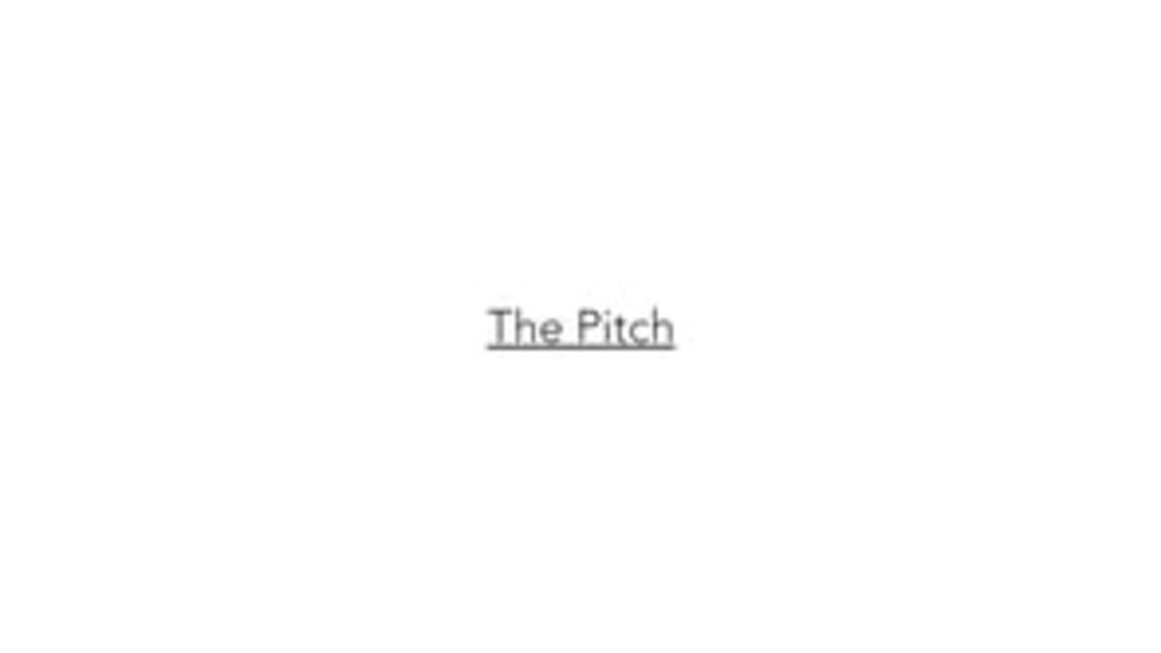 CANNONDALE CAAD •THE PITCH