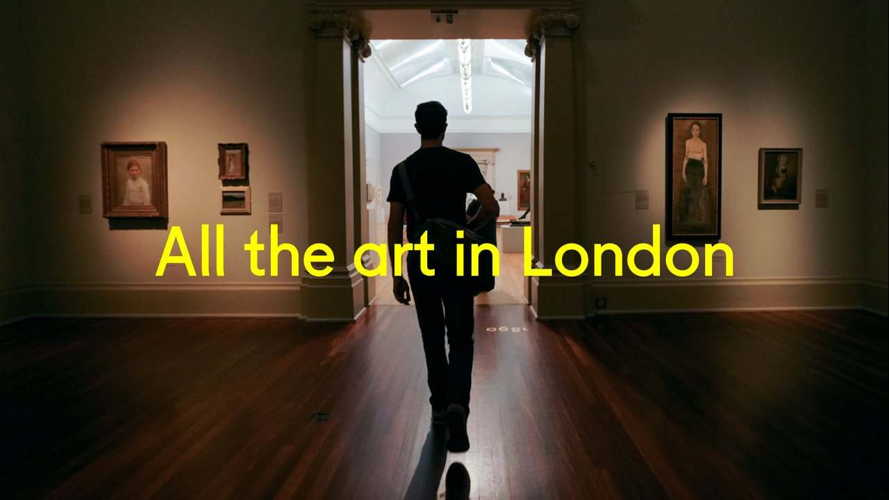 All the art in london in one day