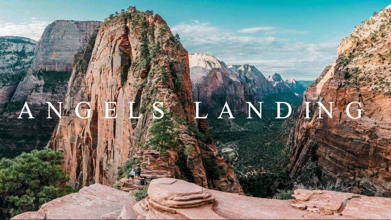 ANGELS LANDING (SHOT ON DJI OSMO)