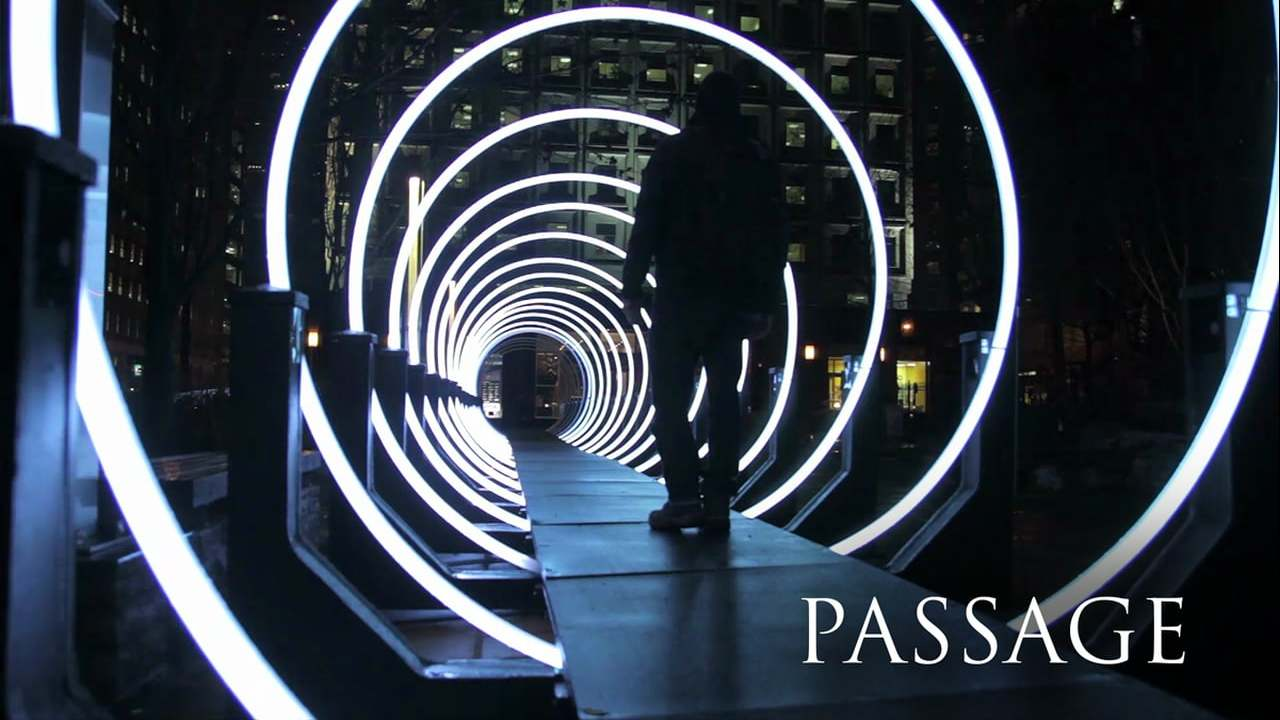 Passage - Interactive installation