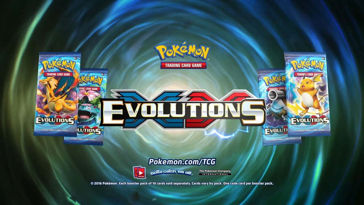 Pokemon - XY Evolutions
