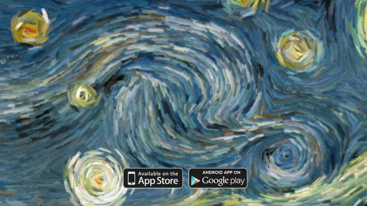 Starry Night (interactive animation)