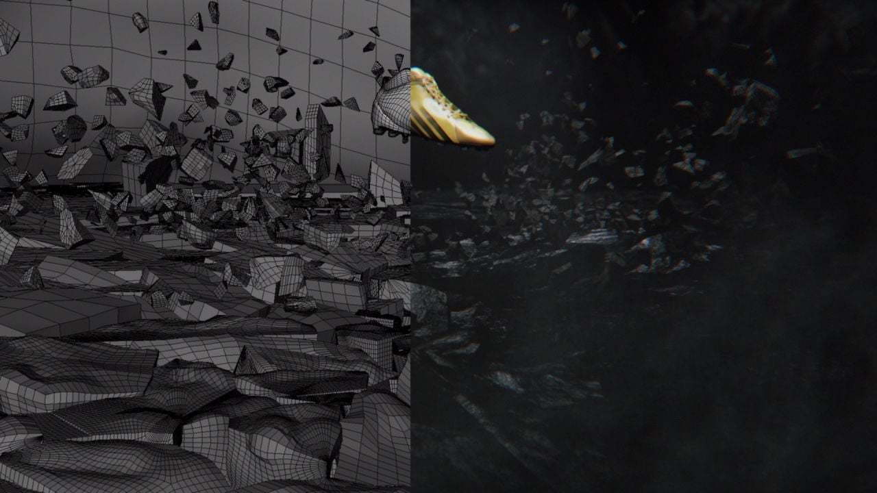 Adidas Light - Compositing Breakdown