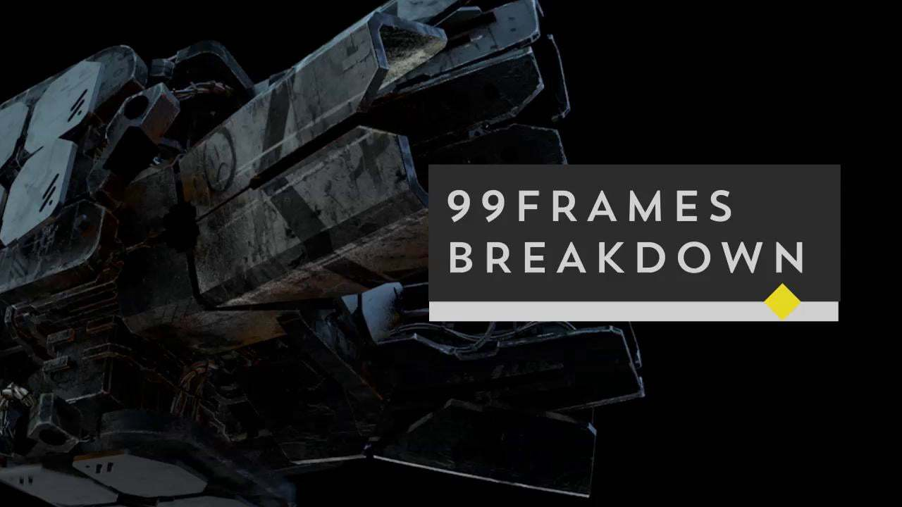 Breakdown for 99Frames - Flying Leaf